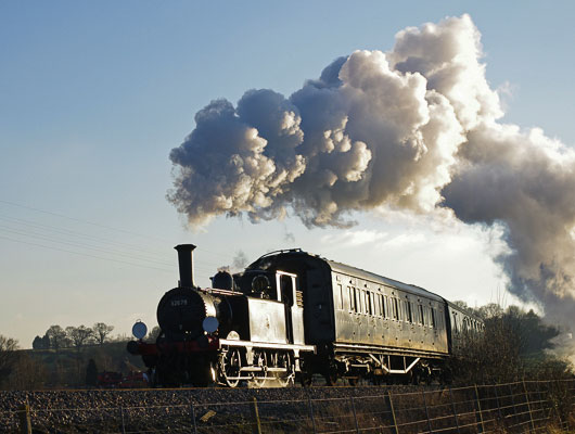 Kent & East Sussex Steam Trains at Tenterden
