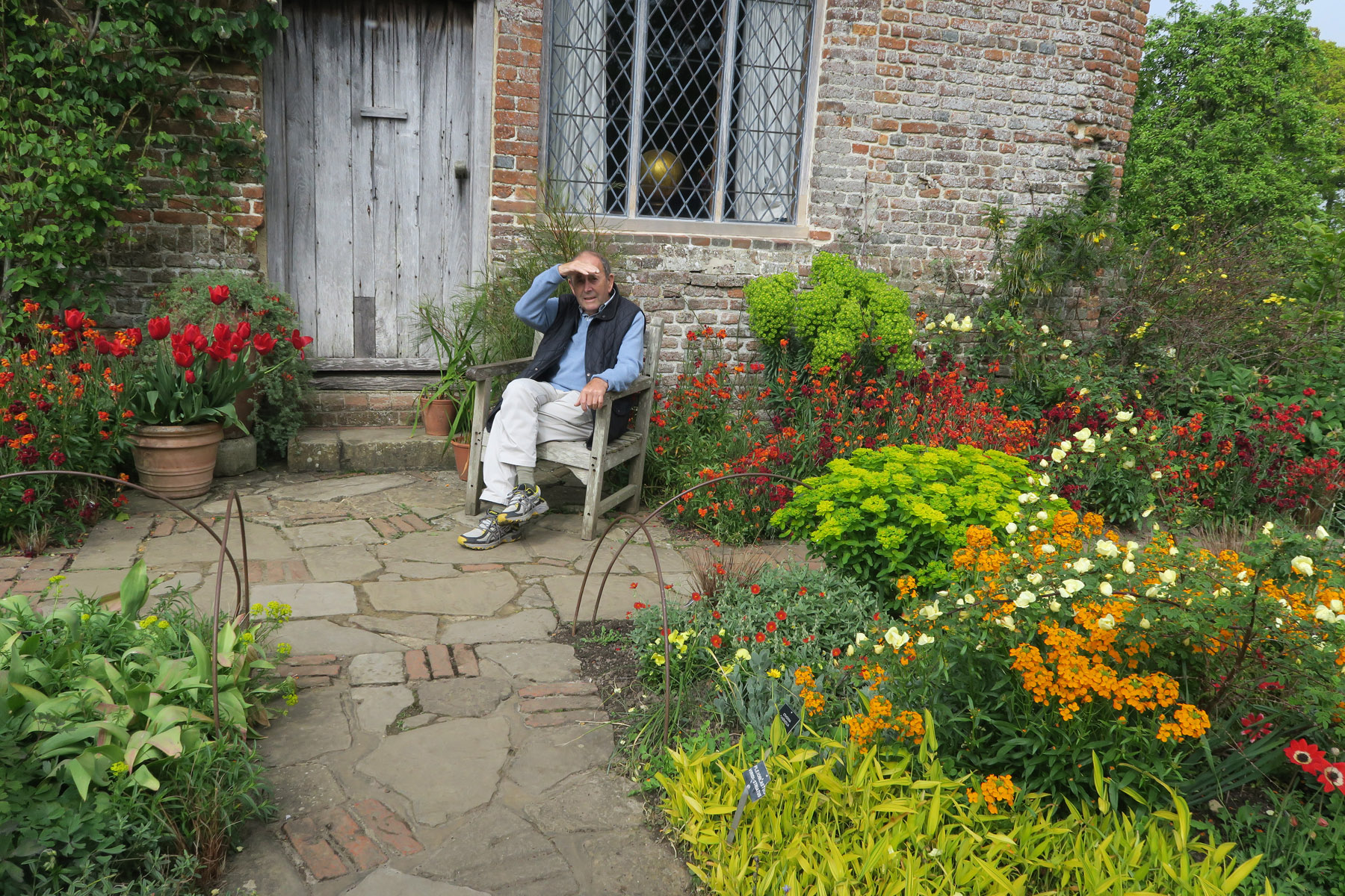 In Sissinghurst Gardens.jpg