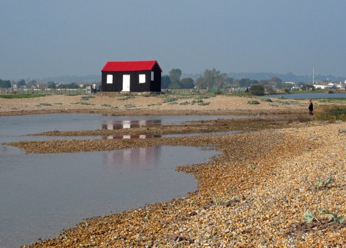 The red hut at Rye Harbour